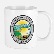 Seal of the state of Alaska Mugs
