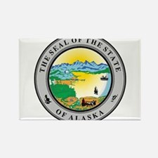 Seal of the state of Alaska Magnets