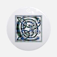 Monogram - Campbell of Lochawe Ornament (Round)