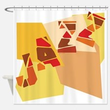 Colorful Jazz Shower Curtain
