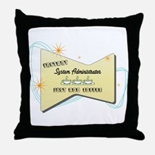 Instant System Administrator Throw Pillow