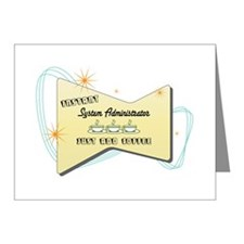 Instant System Administrator Note Cards (Pk of 20)