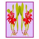 ORCHIDS Small Poster