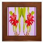 ORCHIDS Framed Tile