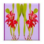ORCHIDS Tile Coaster