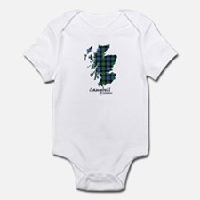 Map - Campbell of Loudoun Infant Bodysuit