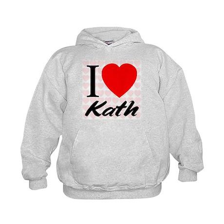 I Love Kath Kids Hoodie