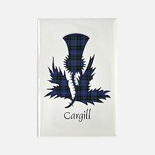 Thistle - Cargill Rectangle Magnet