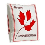 Canada, Sesquicentennial Celebration Burlap Throw