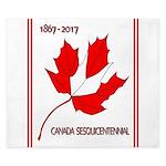 Canada, Sesquicentennial Celebration King Duvet