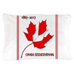 Canada, Sesquicentennial Celebration Pillow Case