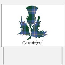 Thistle - Carmichael Yard Sign