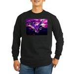 Gaia Avatar Long Sleeve Dark T-Shirt