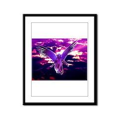 Gaia Avatar Framed Panel Print