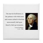 George Washington 7 Tile Coaster