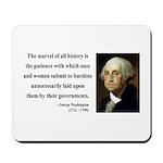 George Washington 7 Mousepad