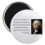 George Washington 7 Magnet