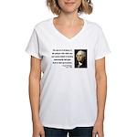 George Washington 7 Women's V-Neck T-Shirt