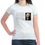 George Washington 7 Jr. Ringer T-Shirt