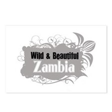 Unique Zambia Postcards (Package of 8)
