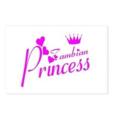 Zambian princess Postcards (Package of 8)