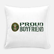 U.S. Army: Proud Boyfriend (Green Everyday Pillow