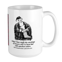 judge.claus.bad Mugs
