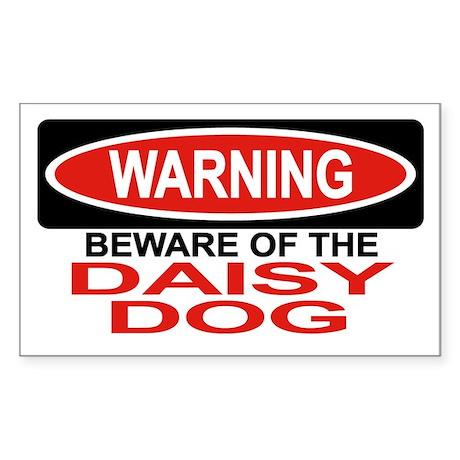 DAISY DOG Rectangle Sticker