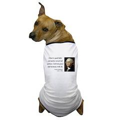 George Washington 8 Dog T-Shirt