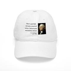 George Washington 8 Baseball Cap