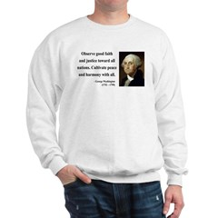 George Washington 8 Sweatshirt