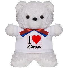 I Love Cheri Teddy Bear