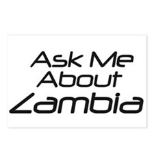 Ask me about Zambia Postcards (Package of 8)