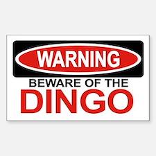 DINGO Rectangle Decal