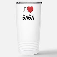 Cute I like music Travel Mug