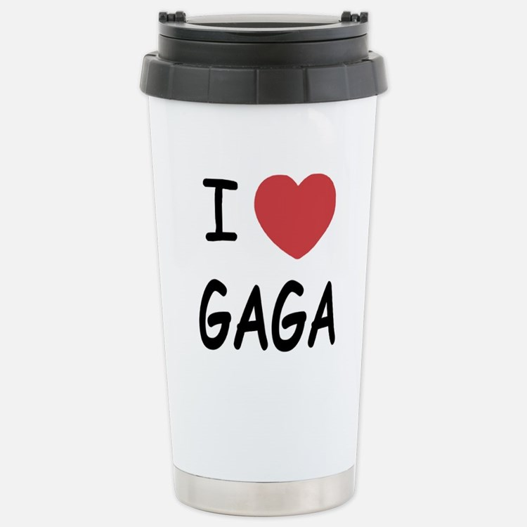 Cute Gaga lady Travel Mug