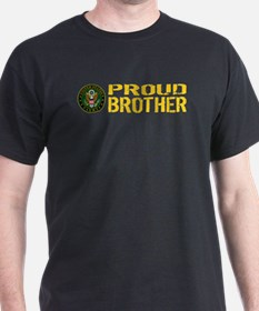 U.S. Army: Proud Brother (Gold) T-Shirt