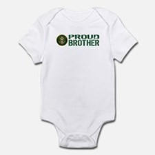 U.S. Army: Proud Brother (Green) Infant Bodysuit