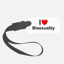 Bisexuality Luggage Tag