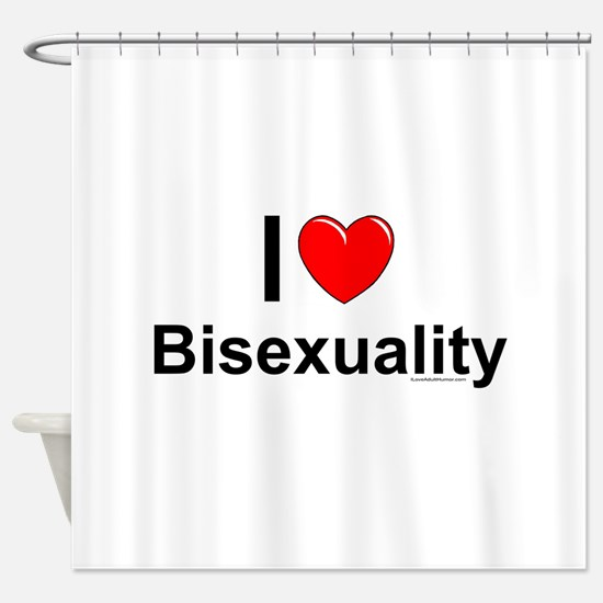 Bisexuality Shower Curtain