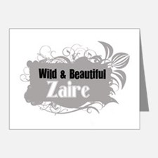 Funny Zaire pride Note Cards (Pk of 20)