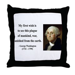 George Washington 9 Throw Pillow