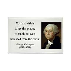 George Washington 9 Rectangle Magnet (10 pack)