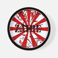Zaire pride Wall Clock