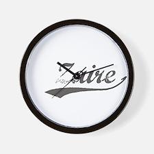 Unique Zaire pride Wall Clock