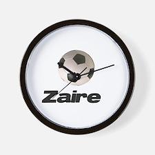 Cute Zaire pride Wall Clock