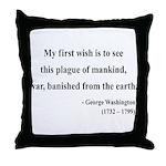 George Washington 9 Throw Pillow