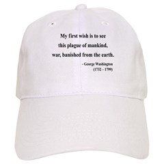 George Washington 9 Baseball Cap