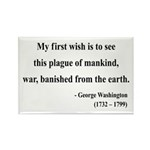 George Washington 9 Rectangle Magnet