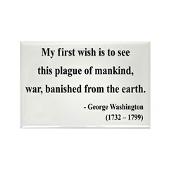 George Washington 9 Rectangle Magnet (100 pack)